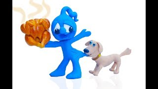 CLAY MIXER: AIRPORT SERVICE FOR DUG THE DOG 💖 Play Doh Cartoons For Kids