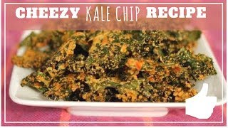 Cheesy Kale Chips - Raw Recipes On A Budget