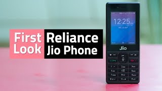 Gambar cover Jio Phone Unboxing & First Look | Camera, Wi-Fi, Voice Assistant, and More