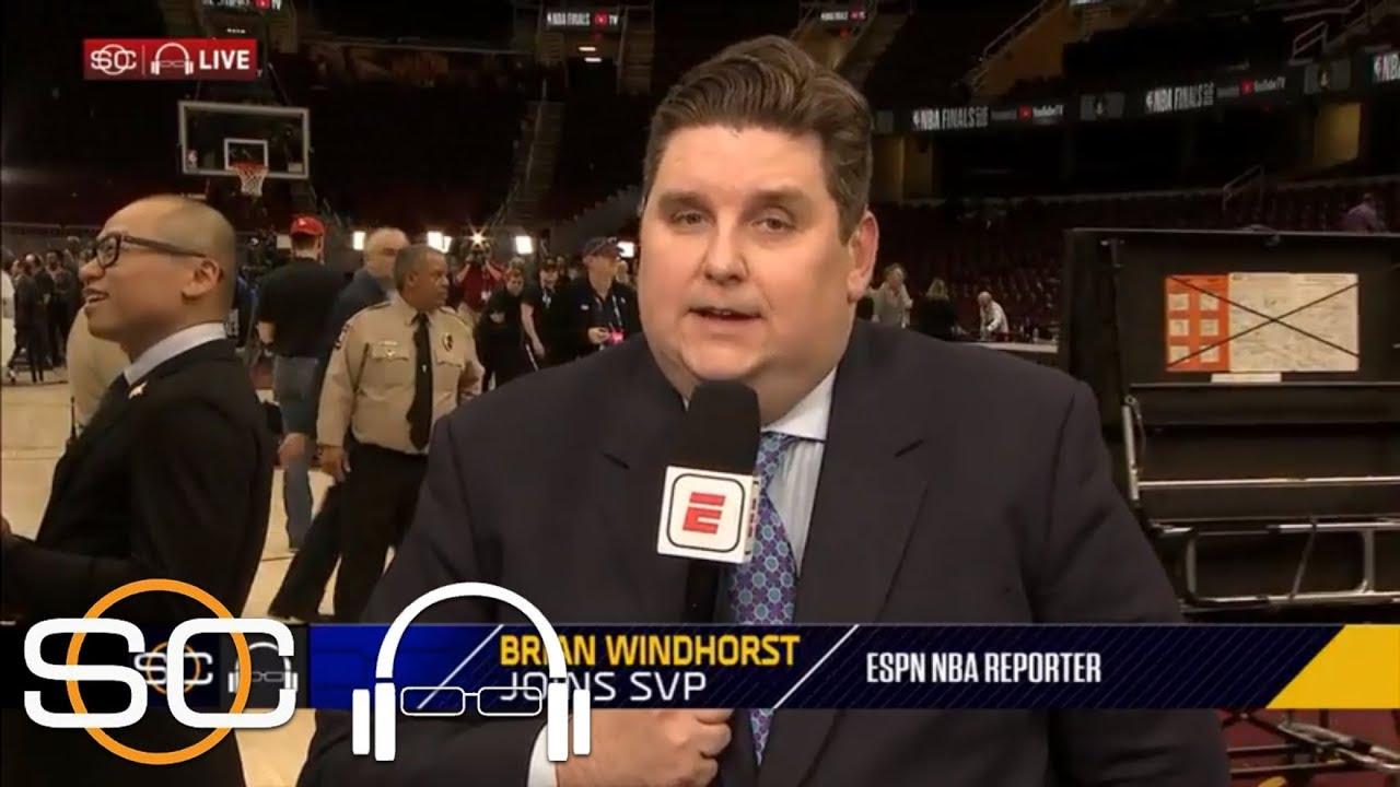 Brian Windhorst: LeBron James punched blackboard after Game 1 of 2018 Finals, injuring hand | ESPN