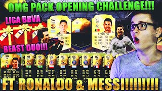 FIFA 16: PACK OPENING CHALLENGE (DEUTSCH) - FIFA 16 ULTIMATE TEAM [FT MESSI & RONALDO!!!]