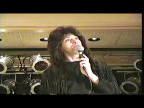 KISS Convention - Q & A With Vinnie Vincent / KISS Tribute Band - Seekonk, MA. - November 20, 1994