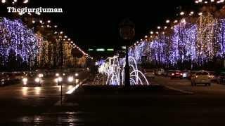 Luminite de Craciun Bucuresti 8 decembrie 2013