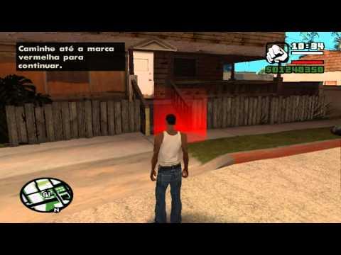 Gta San Andreas #1 Part 1 Missão