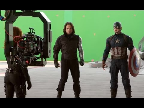 Captain America: Civil War Movie: Behind the Scenes Broll - Scarlett Johansson, Chris Evans (HD)
