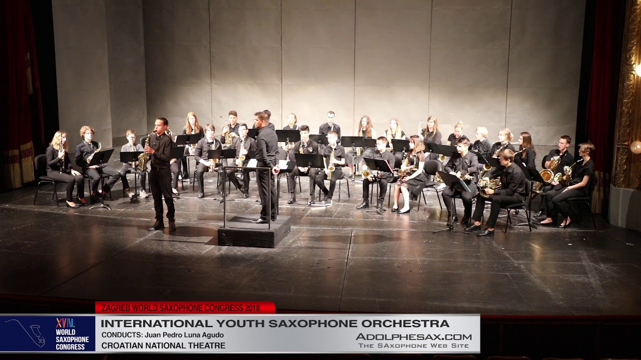 4   Youth Saxophone Orchestra   XVIII World Sax Congress 2018 #adolphesax