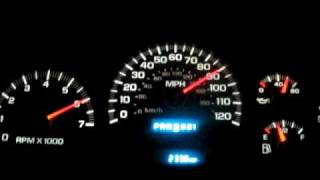 Trailblazer 0-105 mph