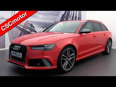 Audi RS6 Avant Performance - 2016 | Revisión y  encendido