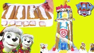 Paw Patrol Gingerbread Candy Cake ДЕЛАЕМ ТОРТ #Щенячий Патруль Конфеты и Мармелад