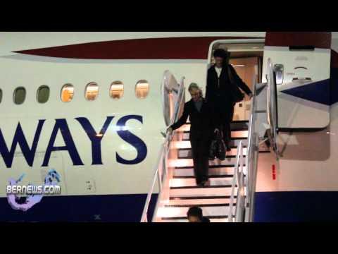 HRH Duchess of Gloucester arrives in Bermuda
