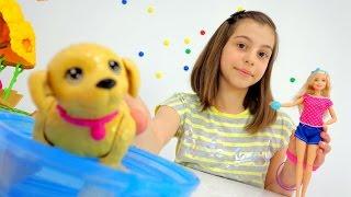 Распаковка игрушек с Барби. Приключения Барби - Мультики для девочек
