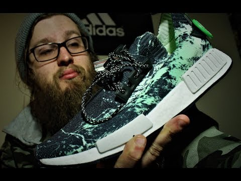 """ADIDAS NMD R1 PK """"AERO GREEN"""" UNBOXING!! + ON FEET + REVIEW!!"""