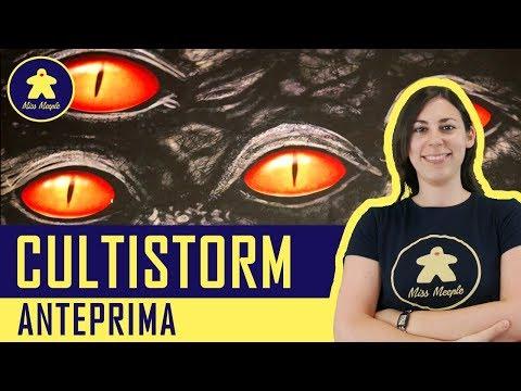 Cultistorm - Gioco da Tavolo - Anteprima Kickstarter - Purple Meeple Games