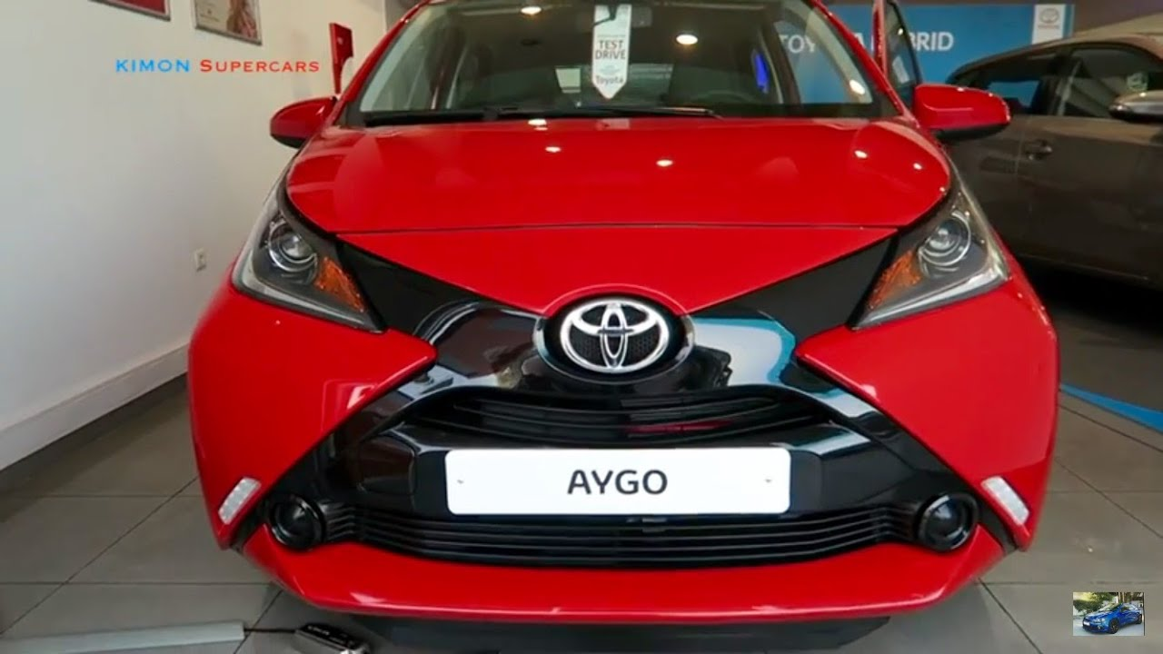 new 2017 toyota aygo exterior and interior youtube. Black Bedroom Furniture Sets. Home Design Ideas