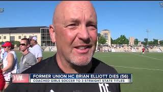 Former Union girls soccer coach Brian Elliott dies at age 56