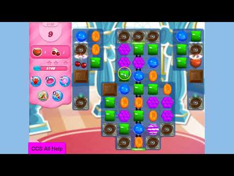 Candy Crush Saga Level 3130 NO BOOSTERS Cookie