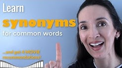Synonyms for Common Words 💪 Boost your vocabulary with JenniferESL!