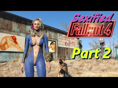 Sexified Fallout 4 - Part 2 (Escaping Vault 111)