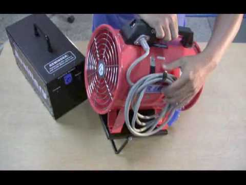 Tronix Portable Air Blower Wind Machine Youtube