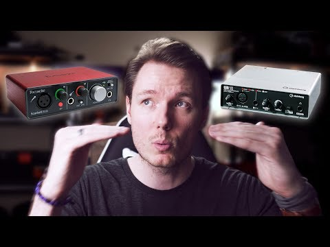 BEST USB Audio Interface 2018 - Focusrite Scarlett Solo vs Steinberg UR12