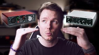 BEST USB Audio Interface 2018 - Focusrite Scarlett Solo vs Steinberg UR12