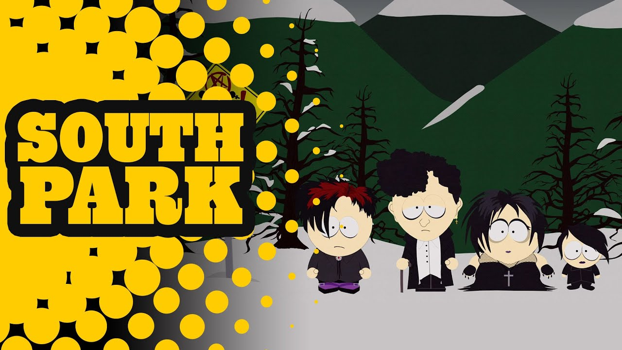 goth kids intro south park youtube
