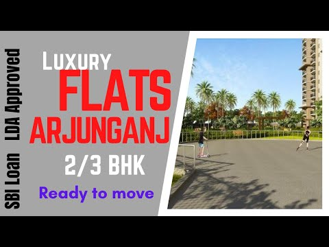 lda sbi approved 2|3 bhk flats near lucknow cantt | 2|3 bhk flats arjunganj lucknow