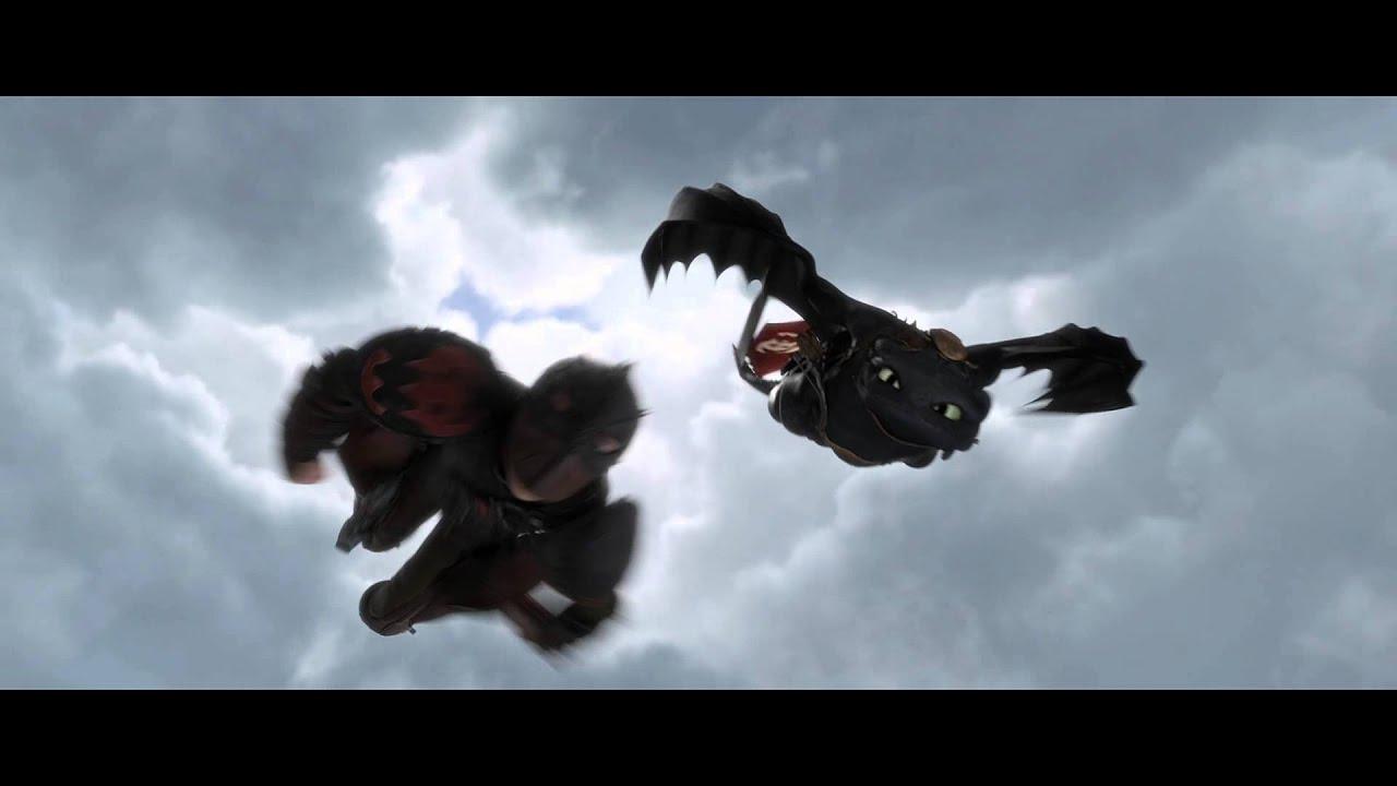 How To Train Your Dragon 2 Night Fury Flight