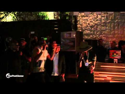 Lebron James Raps With Future At ESPYS Party