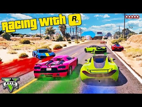 GTA 5 Racing With Rockstar!! Explosive NEW DLC Races w/XpertThief & Stream Team! GTA 5 Funny Moments