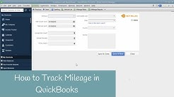 How to Track Mileage in QuickBooks