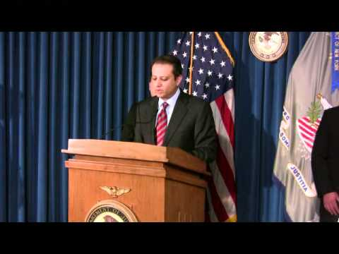 U.S. Attorney's Office, SDNY  -- Press Conference -- 5/3/2011