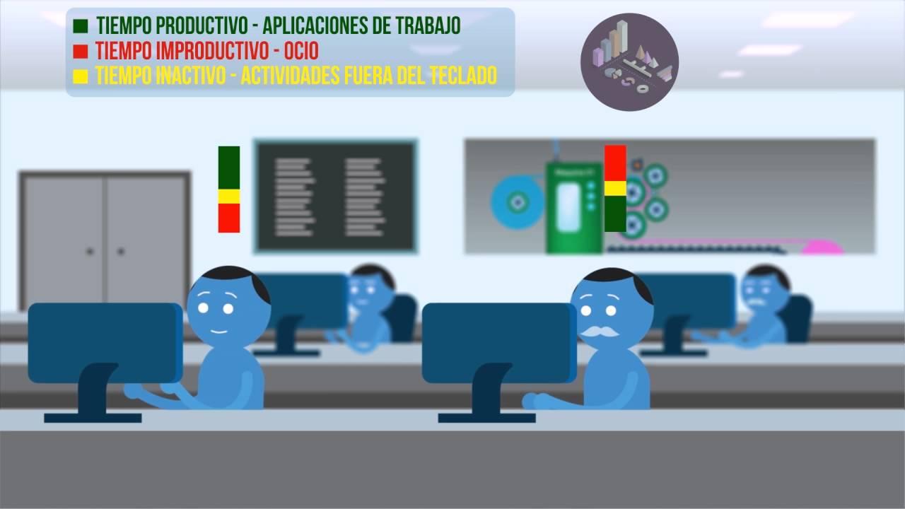 Zinz productividad laboral medir tiempos de trabajo en for Trabajo en oficinas
