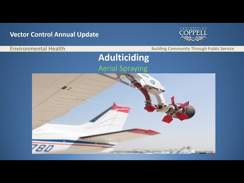 2016 Coppell Vector Control Update & Aerial Spraying