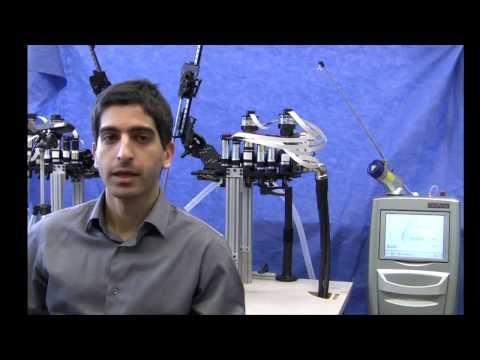 Laser Robotic Surgery using Virtual Fixtures