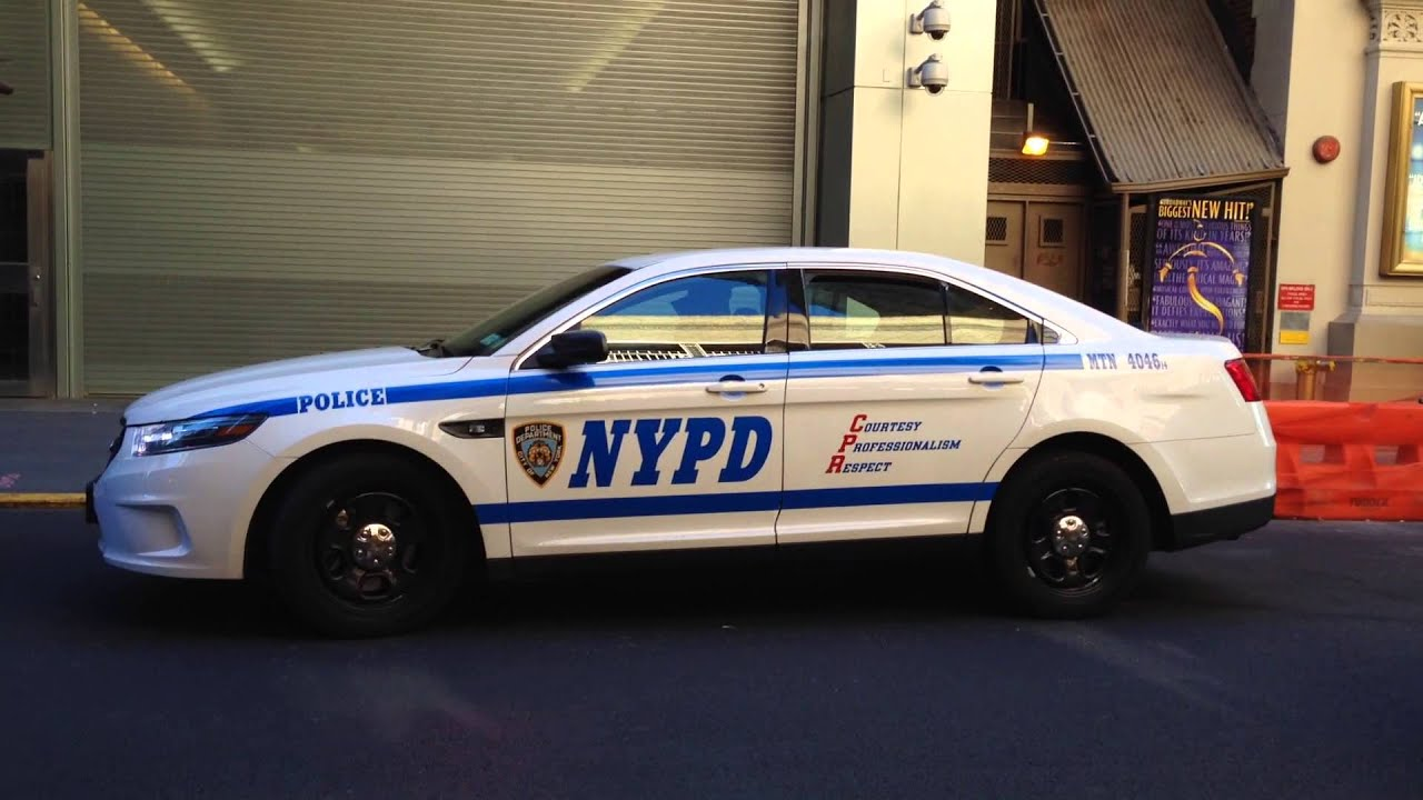 BRAND NEW NYPD SLICKTOP FORD TAURUS POLICE INTERCEPTOR