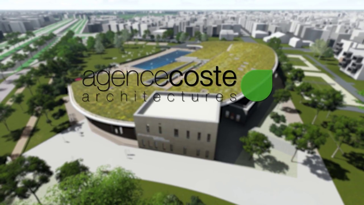 Pr sentation du projet piscine du carrousel dijon youtube for Piscine guebwiller projet