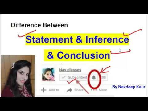 Statements and conclusions reasoning tricks   statements and.