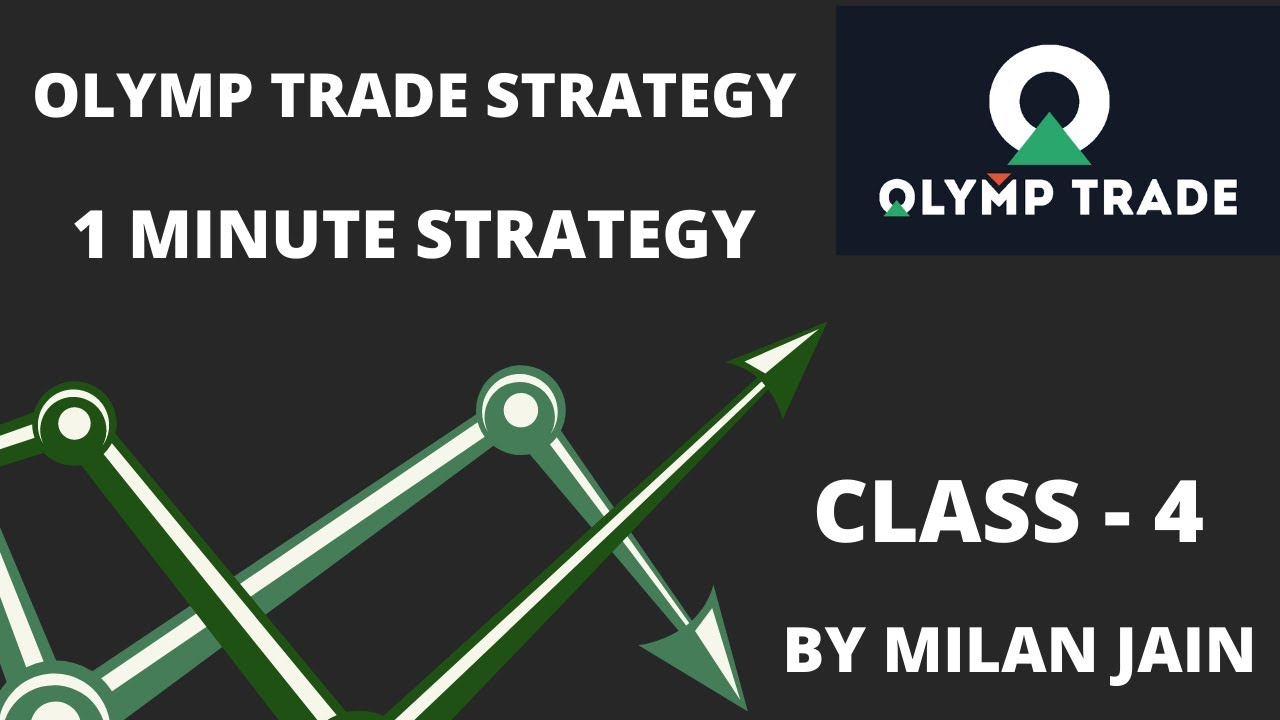 Olymp Trade Strategy | 1 minute winning trick | 100% Winning | Class- 4 | By Milan Jain