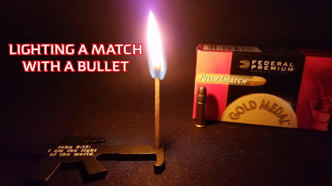 LIGHTING A MATCH WITH A BULLET - TRICK SHOT & LIGHTING A MATCH WITH A BULLET - TRICK SHOT - YouTube azcodes.com
