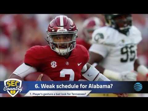 Danny Kanell shreds Alabama for weak schedule