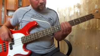 Земляне - Трава у дома (BASS COVER)