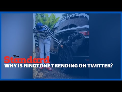 Why #RingtonesRangeRover is trending at number one on twitter today