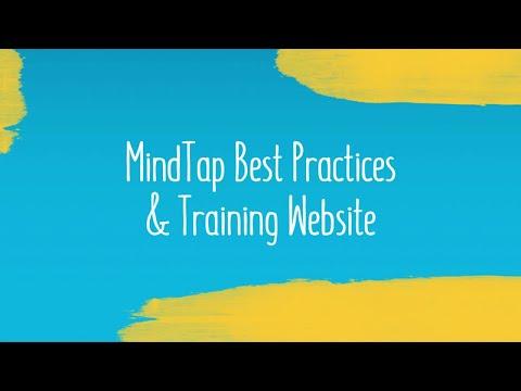 MindTap Best Practices & Training Website