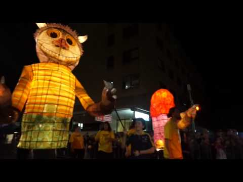 Ipswich Festival 2015 - Parade of Light