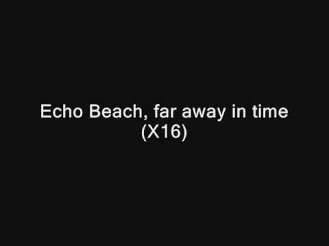 Gabriella Cilmi - Echo Beach (With Lyrics)