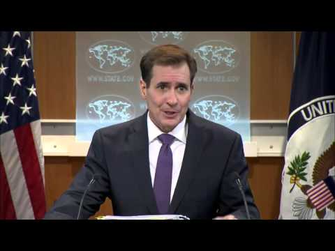 Kirby: Federalization is not partition (Syria). 01 Mar 2016