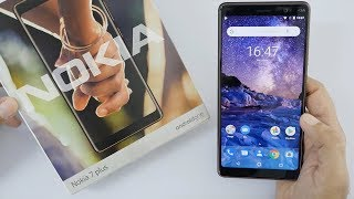 Nokia 7 Plus Unboxing & Overview (Indian Unit)