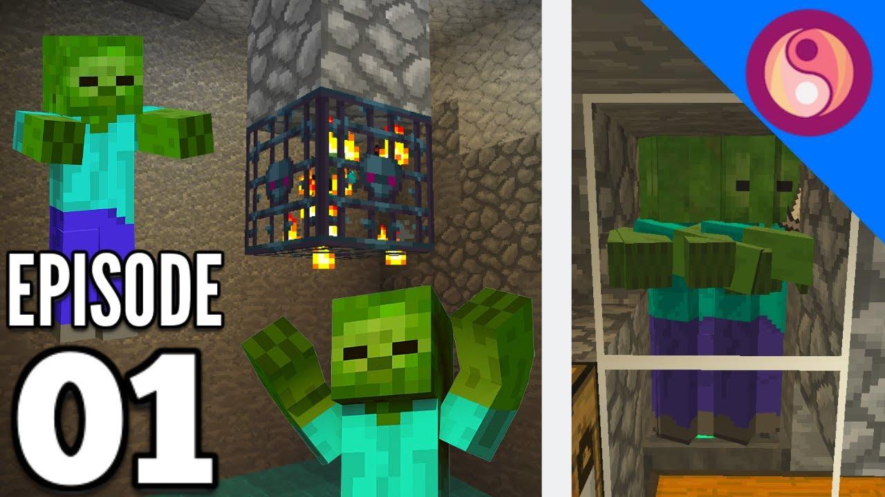 Minecraft 8.85 Zombie Spawner XP Farm! Affinity E8