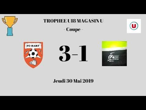 F.C.Bart U18 - G.J. Jeunes Saugeais U18 (3-1) - Résumé